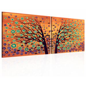 Canvas Print Trees: Separated