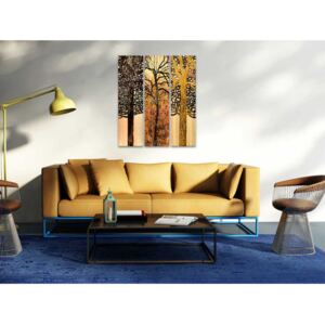 Canvas Print Trees: Tree section