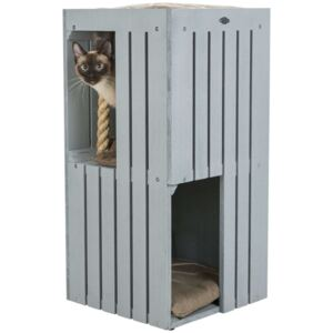 TRIXIE Cat Tower BE NORDIC Juna Grey and Beige