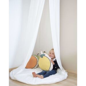 CHILDHOME Hanging Canopy Tent with Playmat Off-white