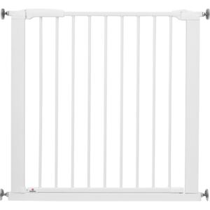 BabyDan Safety Gate Perfect Close with 2 Extensions 77.3-97.1 cm White