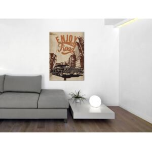 Canvas Print For Teenagers: Enjoy the road