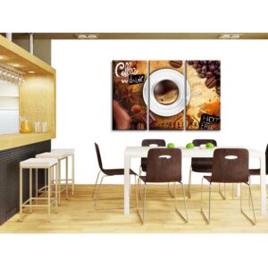 Canvas Print Kitchen: Cup of coffee