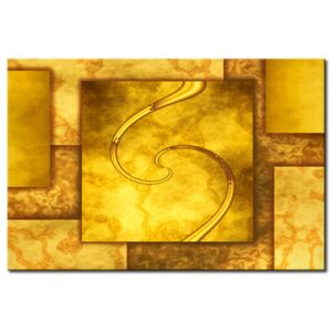 Canvas Print Abstract: Gold of Rome