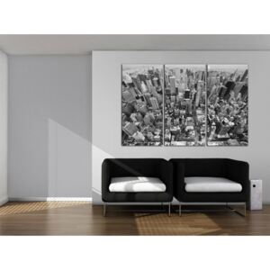 Canvas Print New York: A marvellous view on New York roofs