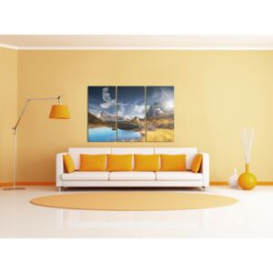 Canvas Print Mountains: Castle in the mountains