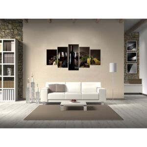 Canvas Print Kitchen: Wine, why not?