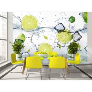 Wall mural Kitchen Themes: Refreshing wave