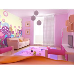 Wall mural For Children: Happy meadow