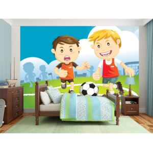 Wall mural For Children: Champions team