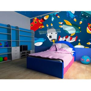 Wall mural For Children: Spaceships