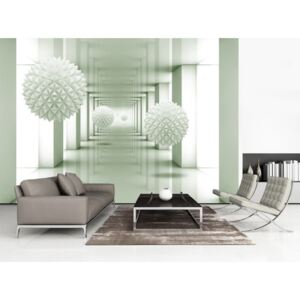 Wall mural Modern: Passage to the Future