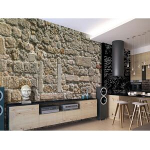 Wall mural Stone: Wall From Stones