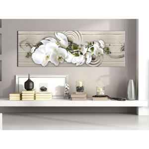 Canvas Print Orchids: Whisper of Sand
