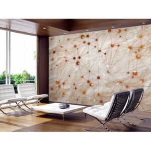 Wall mural Modern: Stone and Gold