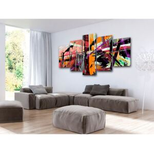 Canvas Print Abstract: Artistic Madness