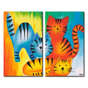Canvas Print For Children: Small tigers