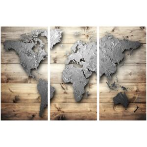 Corkboard Map Decorative Pinboards: Doors to the World [Cork Map]