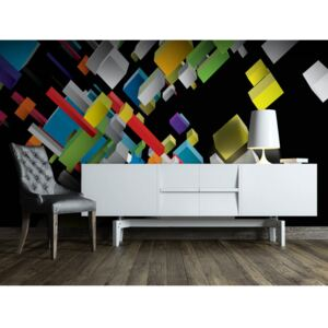 Wall mural Modern: Colorful stairs