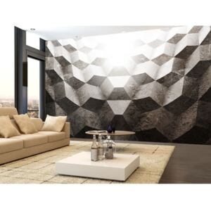 Wall mural Modern: Light in the Tunnel