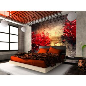 Wall mural Modern: A volcano of passion
