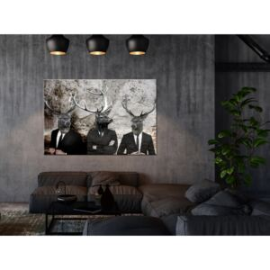 Canvas Print For Teenagers: Deer in Suits