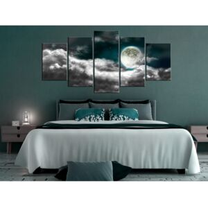 Canvas Print In the Moonlight: Sky at Night II