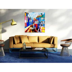 Canvas Print For Children: Colourful reality