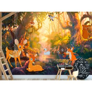 Wall mural For Children: Animals in the Forest