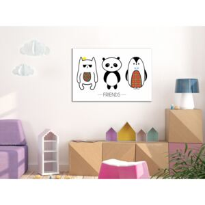 Canvas Print For Teenagers: Friends (1 Part) Wide