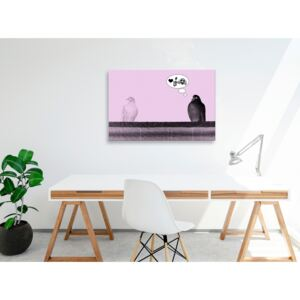 Canvas Print For Teenagers: Courtship (1 Part) Wide