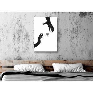 Canvas Print For Teenagers: Inseparable Love (1 Part) Vertical
