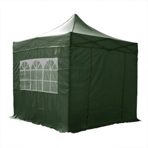Airwave Four Seasons 3x3 Pop Up Gazebo with Sides Colour: Green