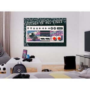 Canvas Print For Teenagers: Mother of All Codes (1 Part) Wide
