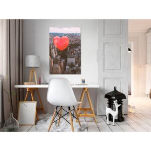 Canvas Print Other Cities: Heart of the City (1 Part) Vertical