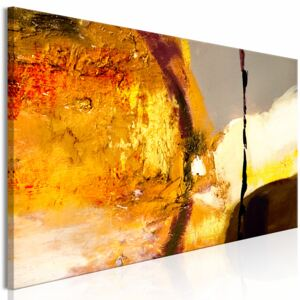 Canvas Print Abstract: Power of Fire (1 Part) Narrow