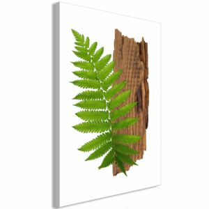 Canvas Print Trees: Firmness of Nature (1 Part) Vertical