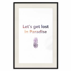 Poster Let's Get Lost in Paradise [Poster]