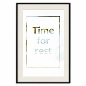 Poster Time for Rest [Poster]