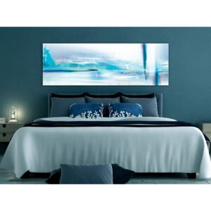 Canvas Print Abstract: Ice Queen (1 Part) Narrow