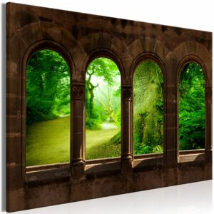 Canvas Print Forest: My Paradise (1 Part) Wide