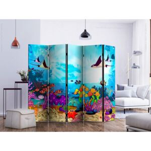 Room divider: Colourful Fish II [Room Dividers]