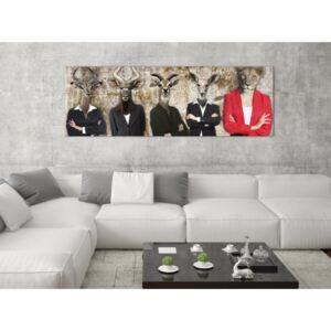 Canvas Print For Teenagers: Me and the Rest (1 Part) Narrow