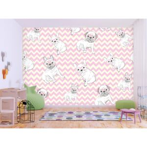 Wall mural For Children: Sweet Puppies