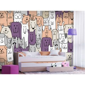 Wall mural For Children: Loveable Animals