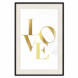 Deco Poster Twisted Love [Deco Poster - Gold]