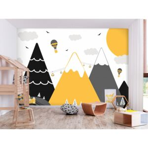 Wall mural For Children: Adventure in the Mountains