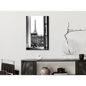 Canvas Print Paris: View From the Balcony (1 Part) Vertical