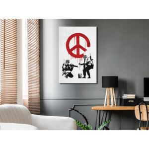 Canvas Print For Teenagers: War and Peace (1 Part) Vertical