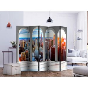 Room divider: Pillars and New York II [Room Dividers]